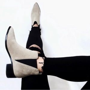 Marc Fisher Yale Pointy Toe Chelsea Booties